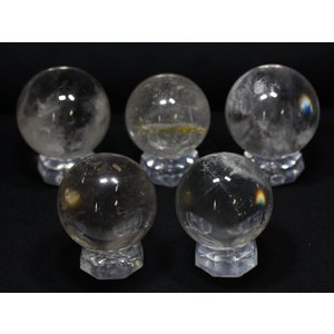置物 インテリア 置き石 丸玉 水晶 約30-35mm 天然石 パワーストーン※DM便・ネコポス不可※|stonecenter
