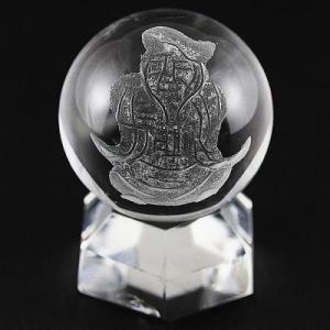 七福神 置物 彫刻置物 彫刻丸玉 七福神 大黒天 (素彫り) 水晶 20mm 天然石 パワーストーン|stonecenter