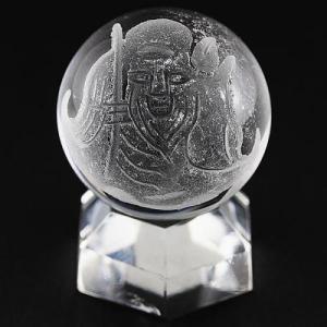 七福神 置物 彫刻置物 彫刻丸玉 七福神 福禄寿 (素彫り) 水晶 20mm 天然石 パワーストーン|stonecenter