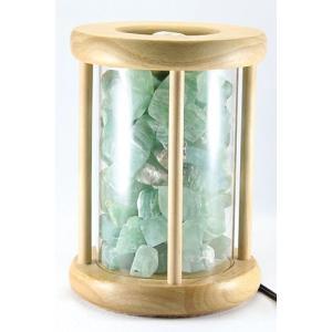 ランプ インテリア ムーディーランプ ダークグリーン 天然石 パワーストーン※DM便・ネコポス不可※|stonecenter