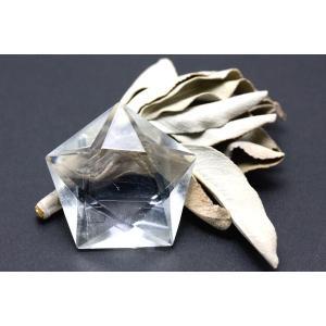 置物 インテリア 置き石 五芒星 水晶 (2A) (天然水晶) 約30mm 天然石 パワーストーン※DM便・ネコポス不可※ stonecenter