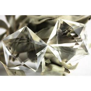 置物 インテリア 置き石 五芒星 水晶(人工結晶) 35mm 天然石 パワーストーン※DM便・ネコポス不可※ stonecenter