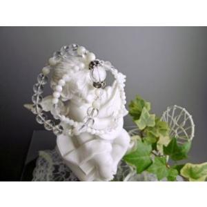 安産のお守り パワーストーン ブレスレット マザーオブパール |stonemagic