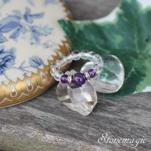 アメジスト パワーストーン リング 指輪 モンプティ 2月の誕生石  |stonemagic