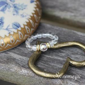 水晶 パワーストーン リング 指輪 モンプティ 4月の誕生石 |stonemagic