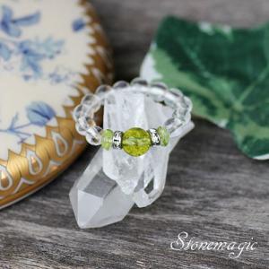ペリドット パワーストーン リング 指輪 モンプティ  8月の誕生石 |stonemagic