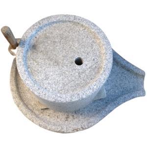 石うす 臼 粉挽き 石材調理器具|stoneyamagishi5