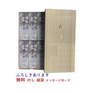 日本香堂 宇野千代のお線香淡墨の桜 桐箱6入 の...の商品画像