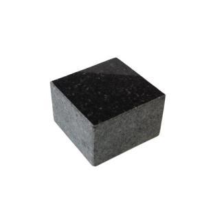インシュレーター角 黒御影石 インドM系  台 スピーカーなどに|stoneyamagishi5