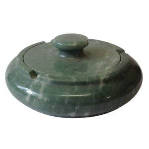 灰皿 ふた付 大理石製品 ストーンインテリア小物雑貨