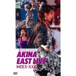 中森明菜イースト・ライヴ インデックス23〈5.1 version〉 [DVD] stonline
