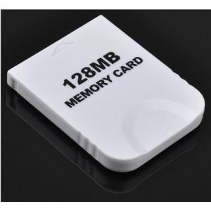 大容量【2043ブロック/128MB】Wii/ゲームキューブ対応 メモリーカード【ホワイト】|stonline