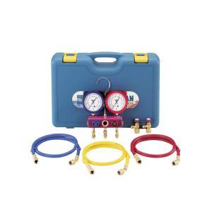 イチネンTASCO TA122FA R410A/R32マニホールドセット(ゲージカバー付) stonline
