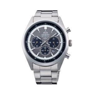 [オリエント]ORIENT 腕時計 スポーティー NEO 70's ネオセブンティーズ SOLAR PANDA ダークグレー WV0011TX メンズ|stonline