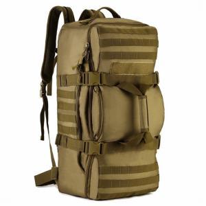 (フェニックス一輝) Phoenix Ikki 60L 大容量 3WAY 選べる4色 迷彩 多ポケット 撥水耐震 海外旅行 長期旅行 登山に最適 多機能 アルパインパック ミリタリー リ|stonline