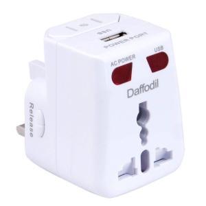 海外 変換プラグ 旅行充電器 コンセント変換 A/O/BF/Cタイプ転換 100-250V ACアダプター 世界の150ヶ国以上対応マルチプラグ 海外旅行/出張対応 海外充電器 Daff stonline