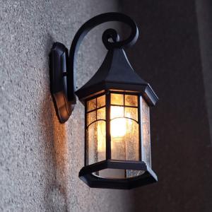 壁掛け照明 ブラケットライト レトロ風 玄関灯 ポーチライト 壁掛け照明 LED対応 E26 110V ウォールランプ アンティーク 北欧 おしゃれ 屋外 室内照明 1灯 ブラ stonline