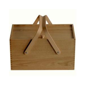 倉敷意匠計画室 栗のソーイングボックス 木製 裁縫箱 日本製|stonline