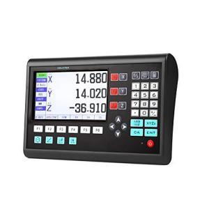 Kinbelle LCD 3軸デジタル読み出し リニアスケール 高精度 旋盤機 DRO表示 CNCフライス stonline