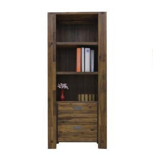 飾り棚 本棚 アジアン 完成品|store-anju