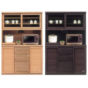 食器棚 レンジ台 幅120cm 木製 完成品 開梱設置付き|store-anju