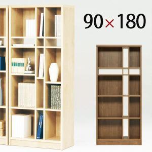 オープンシェルフ オープンラック 木製 本棚 完成品 幅90cm おしゃれ 国産|store-anju