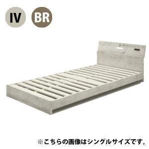 セミダブルベッド ベッド セミダブルサイズ シンプル モダン 木製
