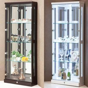 コレクションケース コレクションボード LEDライト 鍵付き コーナータイプ|store-anju