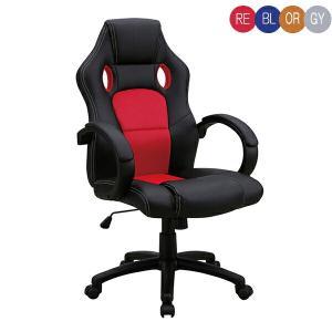 オフィスチェア パソコンチェア チェアー 椅子 いす 肘付き 布地 メッシュ 昇降式の画像