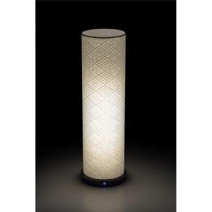 LED 和室 モダン照明 LF550-acスタンドライト手漉き和紙市松 〔日本製〕