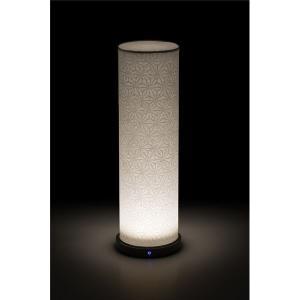 LED 和室 モダン照明 LF550-acスタンドライト手漉き和紙麻葉 〔日本製〕