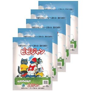 ペパーレット 猫砂 ピピジャン 8L×5個 (ケース販売)