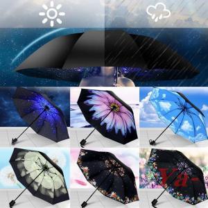 日傘 レディース 折りたたみ 遮光 大きい 軽量 丈夫 紫外線対策 晴雨兼用 UV 遮熱の画像