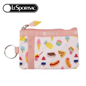 レスポートサック ポーチ 2437 F639 SUMMER SWEETS LESPORTSAC ID CARD CASE カードケース パスケース レスポ ab-340500|store-goods