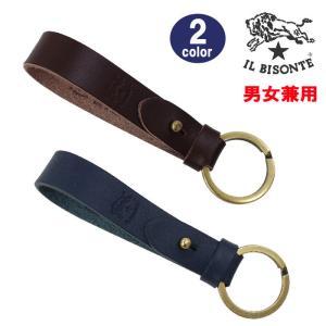 イルビゾンテ キーホルダー C0638 P VACCHETTA IL BISONTE レザー 本革 キーリング 男女兼用 ab-438100|store-goods