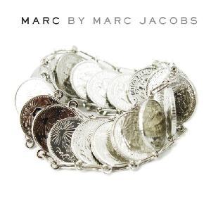マークバイマークジェイコブス ブレスレット ペソコイン 店内どれでも2点で送料無料 46307 シルバー MARC BY MARC JACOBS ag06400|store-goods