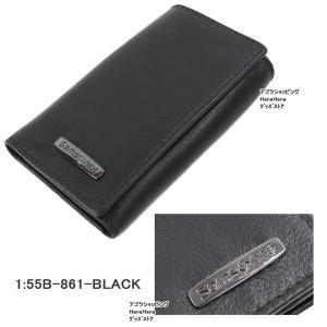 サムソナイト キーケース 55B 861 6連 ブラック メンズ samsonite ag-1107|store-goods