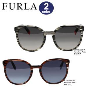 フルラ サングラス SUF218J 09Y7 07NR サイドロゴデザイン レディース FURLA プラスチック ag-1243|store-goods