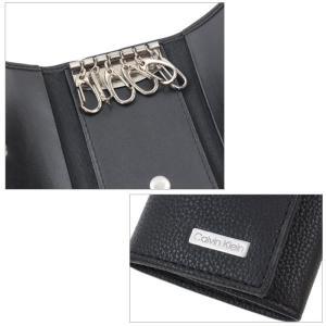 カルバンクライン キーケース 79216 Calvin Klein 6連フック 牛革 ブラック Key ag-217900 store-goods 04
