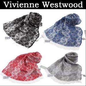 ヴィヴィアンウエストウッド ストール S45 オーヴモチーフ ランダム織りデザイン メンズ レディース Vivienne Westwood ヴィヴィアン ag512700|store-goods