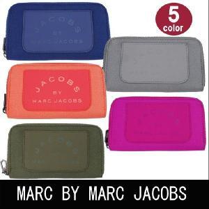 マークバイマークジェイコブス 財布 前面ポケット ラウンドファスナー 長財布 MARC BY MARC JACOBS 全5色 ag-592800|store-goods