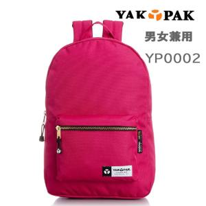 YAKPAK ヤックパック バッグ リュック YP0002 ゴールドファスナーデザイン デイバッグ パック バックパック 全7カラー 男女兼用 ag-724600|store-goods