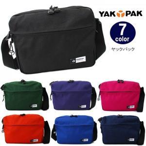 ヤックパック バッグ YP0502 上部両引きファスナー ショルダーバッグ YAKPAK 全7カラー 男女兼用 ag-727500|store-goods