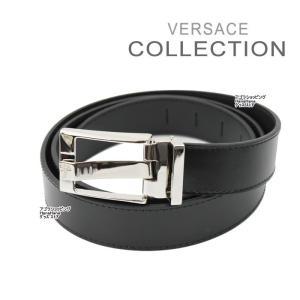 ヴェルサーチ コレクション ベルト V910033 ブラック メデューサデザイン フリーサイズ メンズ VERSACE COLLECTION ヴェルサーチコレクション ag-787500|store-goods