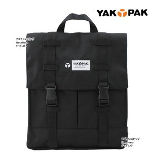 YAKPAK ヤックパック バッグ YP2042 リュック バックル開閉 四角型 男女兼用 ag-807400|store-goods