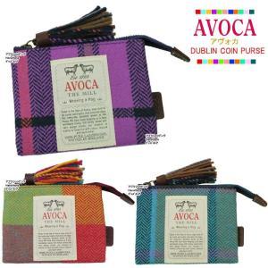 AVOCA アヴォカ ポーチ 101126 101117 10112 DUBLIN COIN PURSE ウール コインパース ポーチ コスメ ag-815400|store-goods