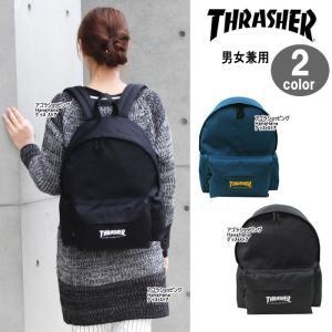 THRASHER スラッシャー バッグ リュック THRCD-500 コーデュラナイロン デイバッグ パック リュックサック 男女兼用 ag-837100|store-goods