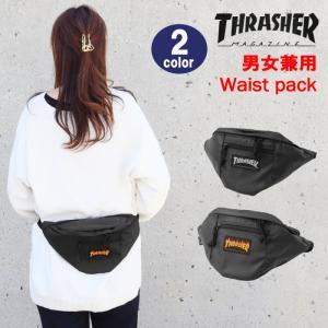 THRASHER スラッシャー バッグ ウエストバッグ ポーチ THRPN-3900 ボディバッグ 男女兼用  ag-853700|store-goods