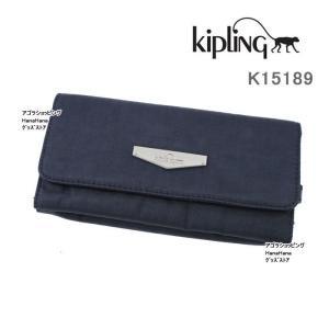 Kipling キプリング 長財布 K15189 00F 三つ折り長財布 BROWNIE KC 財布 ag-858600|store-goods