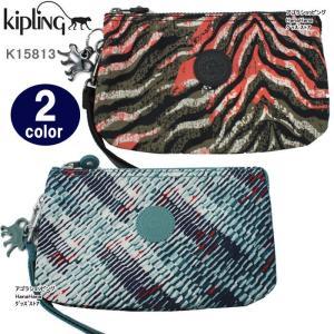 Kipling キプリング ポーチ K15813 Creativity XL ストラップ  ペンシルケース 化粧ポーチ ag-858800|store-goods